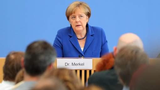 Merkel ne remet pas en question l'accueil des réfugiés