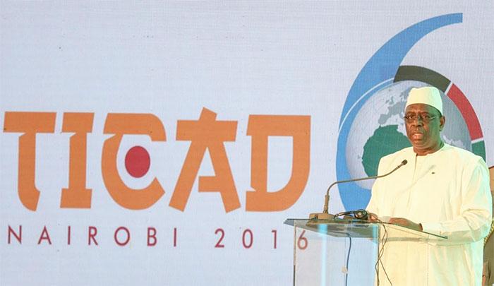 TICAD VI : MACKY SALL PLAIDE EN FAVEUR DU FINANCEMENT DES PROJETS D'INTÉRÊT RÉGIONAL EN AFRIQUE