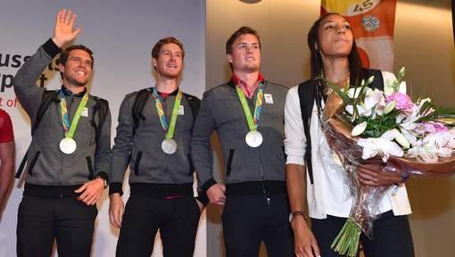 Un montant de 406.500 euros distribués aux athlètes belges du top 8 des JO