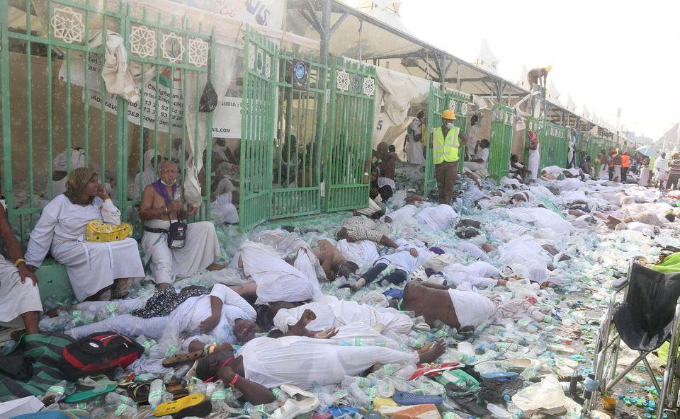 Nombre de personnes tuées lors des bousculades de 2015 à la Mecque selon leur pays d'origine