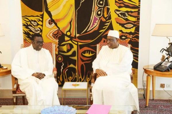 Le président Sall a présenté ses condoléances à la famille de Mbaye Jacques Diop