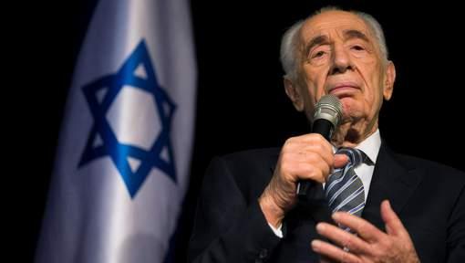 L'ex-président israélien Shimon Peres hospitalisé après un AVC