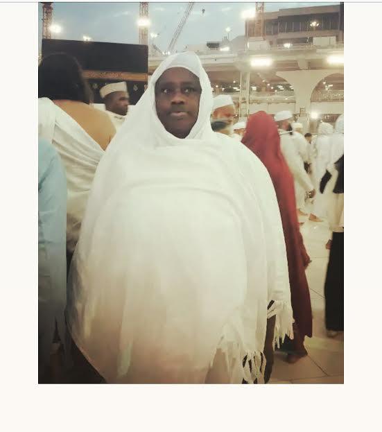 Mbaye Diagne: L'ancien joueur de la Juventus amène sa maman et quelques  membres de sa famille faire le hadj à la Mecque