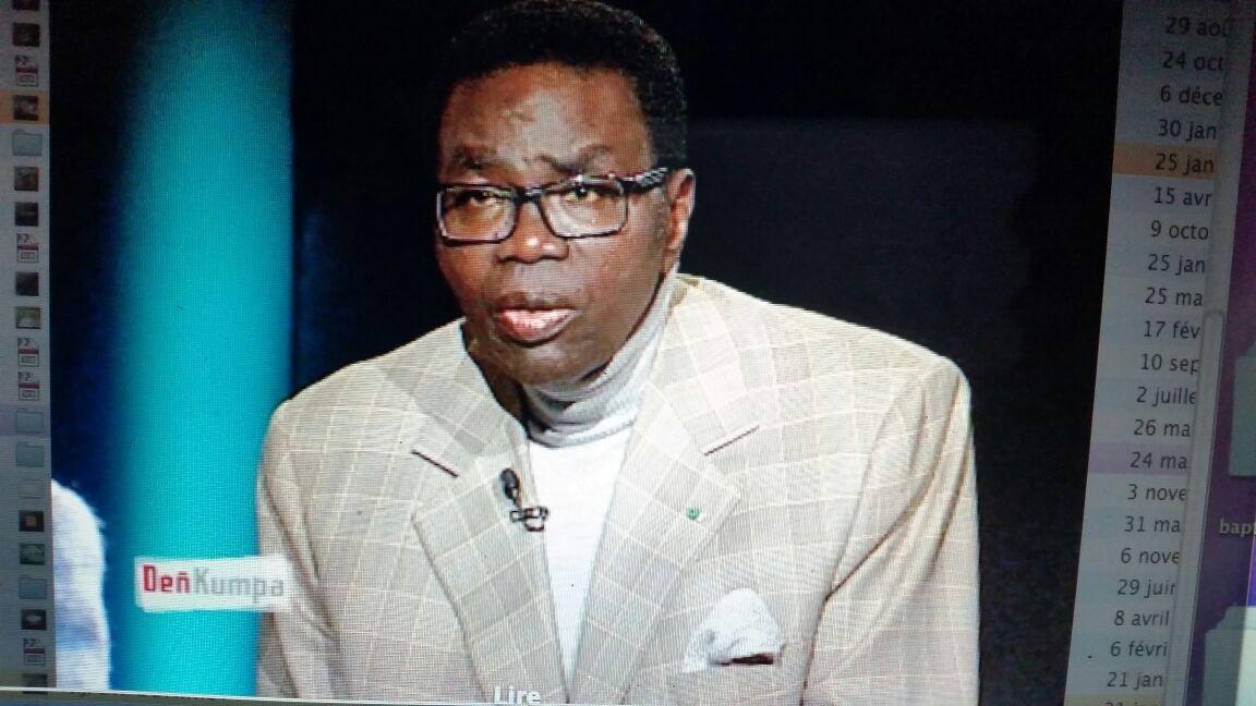 La RTS rediffuse la dernière sortie de Me Mbaye Jacques Diop