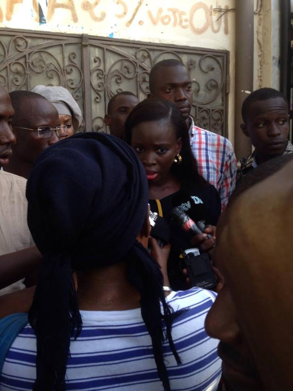 La Cojer nationale fait feu sur l'opposition: « Cet axe du mal politique s'active à rendre le pays ingouvernable… », Thérèse Faye Diouf