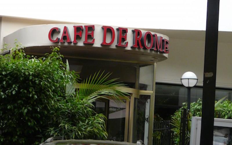 La vérité sur l'affaire du Café de Rome
