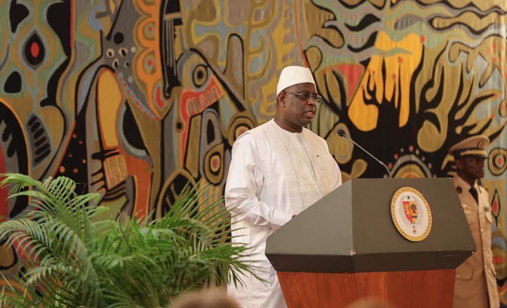 Message de félicitations au nouveau PR Gambien (Macky Sall)