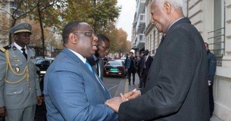 Visite d'Etat : Abdou Diouf dans le comité d'accueil à Macky