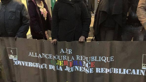 Photos-Strasbourg: au cœur d'un face à face entre ses partisans et ses opposants, Macky prend la voie de contournement