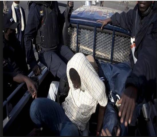 Khadim Sène, le meurtrier de Tamsir Thiam aux Parcelles Assainies, appréhendé par la police à Guédiawaye
