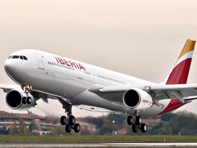 Blocus à l'aéroport LSS: Iberia repart sans passagers