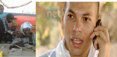 """Appel à Oussouye: De Doha, Karim Wade renoue avec sa politique """"bluetooth"""""""