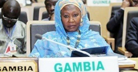 Union africaine : la bourde diplomatique de la vice-présidente de Gambie à l'encontre d'Alpha Condé