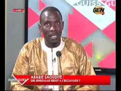 Audio- El Hadji Mansour Diop de la Sen TV victime de vol.