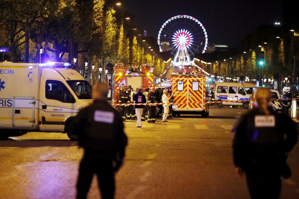 Ce que l'on sait de l'attaque survenue sur les Champs-Elysées à Paris