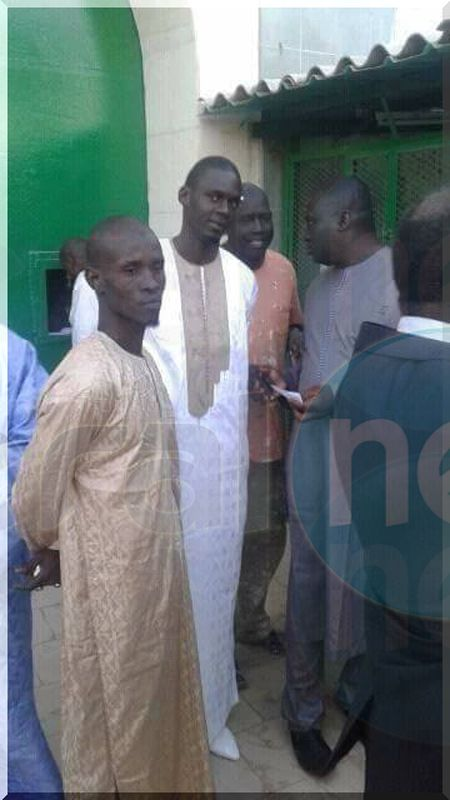 Le message de Bamba Fall après son séjour carcéral (images)