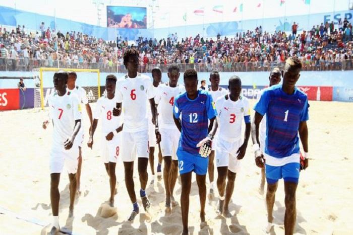 Beach soccer : le Sénégal écrase les Bahamas (10-1) et se qualifie aux quarts de finales