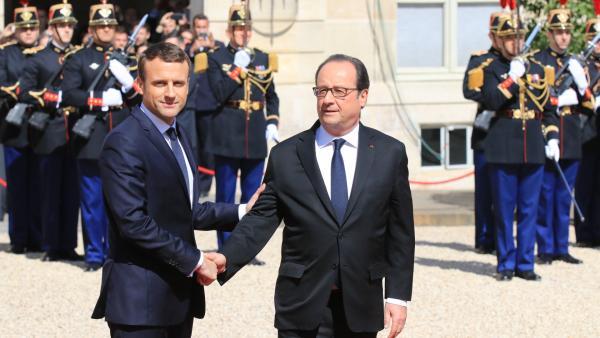 Emmanuel Macron officiellement investi président
