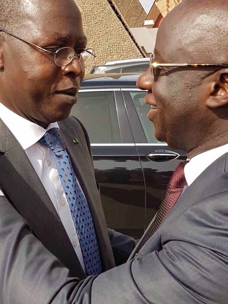 Arrêt sur image ! Le Pm, Dione et l'incontournable Président du Meds, Mbagnick Diop