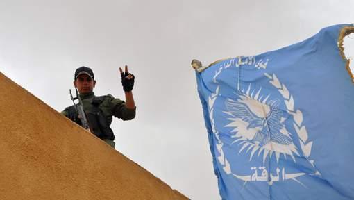Un drone attaque des forces de la coalition en Syrie