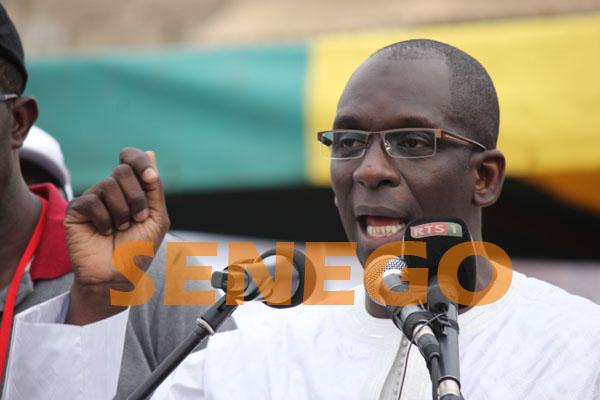 Abdoulaye Diouf Sarr: « …Donner une majorité écrasante à Macky Sall »