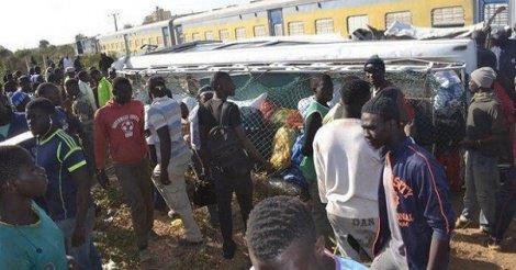 Une dame écrabouillée par un train au passage à niveau de Diakhao
