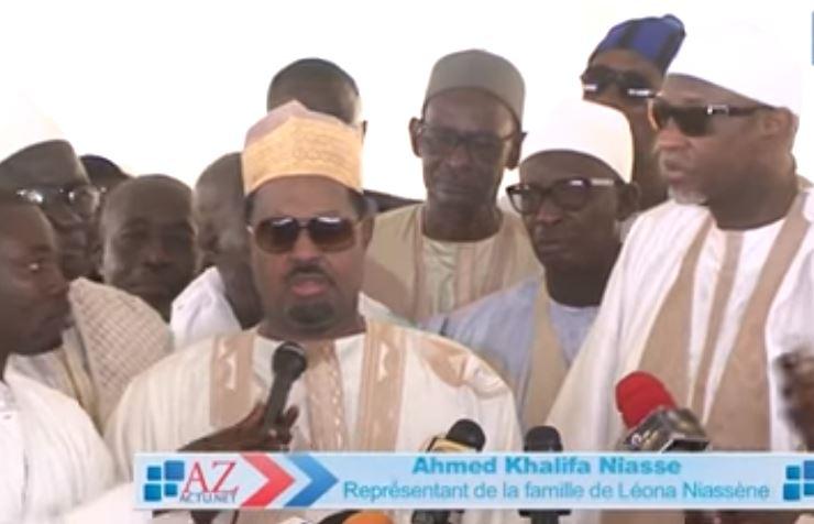 Ahmed Khalifa Niasse aux Mourides: « vous êtes loin d'émerveiller Serigne Touba »