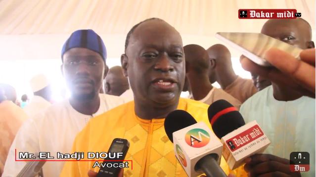 Rencontre CENA – Classe politique : Me El Hadji Diouf fait sa plaidoirie face à Doudou Ndir