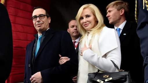 La femme du secrétaire américain au Trésor crée la polémique sur Instagram