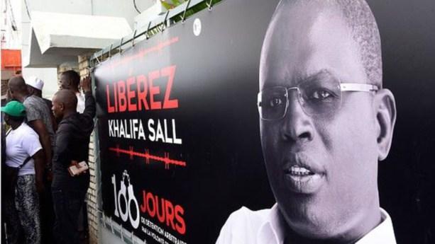 """Collecte de fonds pour faire libérer Khalifa Sall : """"1.000f au Sénégal, 2 euros en Europe, 2 dollars aux Usa"""""""