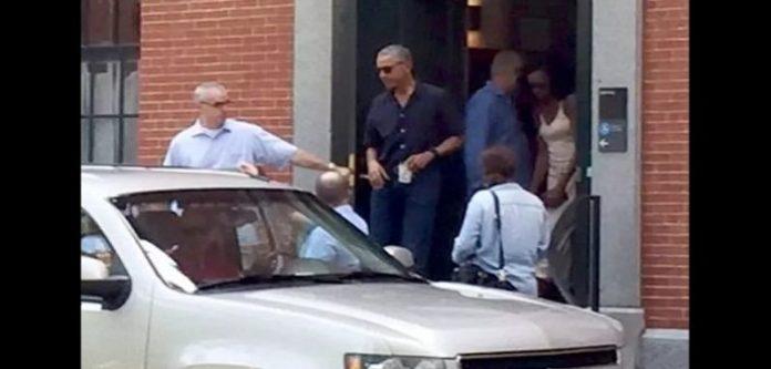 Moment émouvant : Barack et Michelle Obama accompagnent Malia pour son premier jour à Harvard photos et (vidéo)