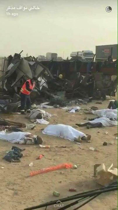 Arabie saoudite: 13 morts et 36 blessés sur l'autoroute Riyad-Mecque