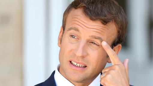 La popularité de Macron continue à baisser