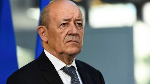 """Le président Bachar al-Assad """"ne peut pas être la solution en Syrie"""" et la transition """"ne va pas se faire avec lui"""", a estimé le chef de la diplomatie française Jean-Yves Le Drian. © afp."""