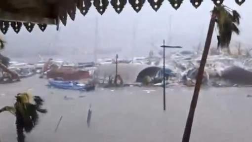 Au moins six morts sur la partie française de l'île de Saint-Martin, détruite à 95%