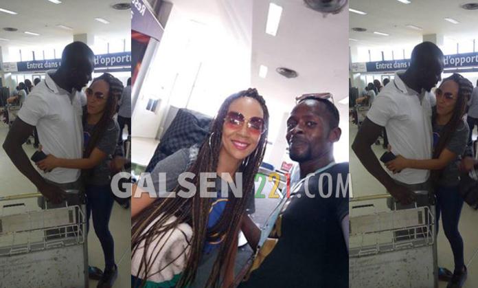 (02 photos + Vidéo) Regardez l'arrivée de Malika la femme de Assane Diouf à Dakar