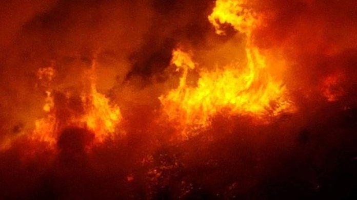 Incendie à la rue Amadou Assane Ndoye