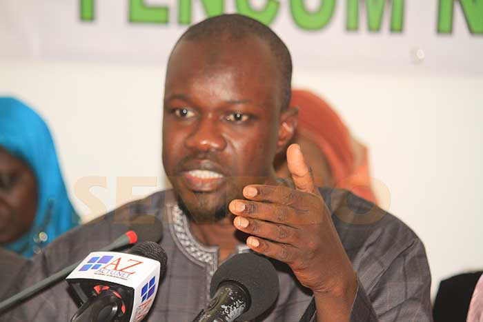Ousmane Sonko : « je n'ai jamais vu des gens aussi lâches intellectuellement… »