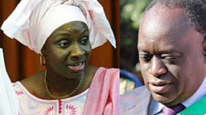 Me Diouf réplique: «Mimi Touré est en chômage, elle ne sait rien mais s'intéresse à tout »Ecoutez