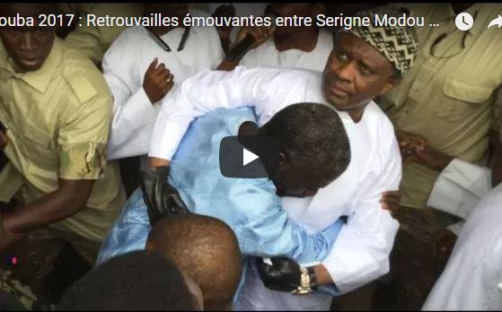 Touba 2017 : Retrouvailles émouvantes entre Serigne Modou Kara et son frère Borom Darou