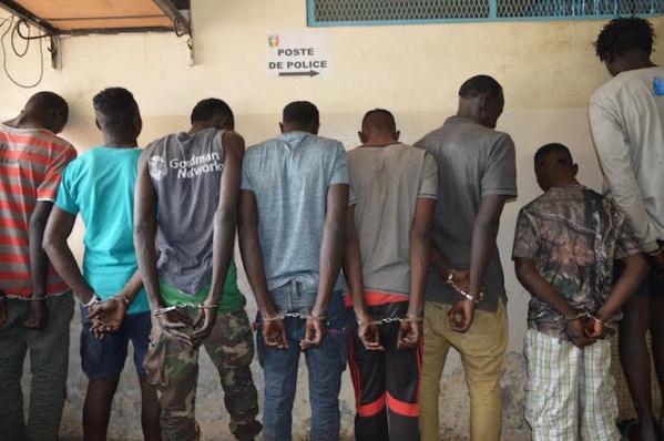 """Banditisme à Dakar: la bande à """"Kagna"""" risque 20 ans de travaux forcés"""