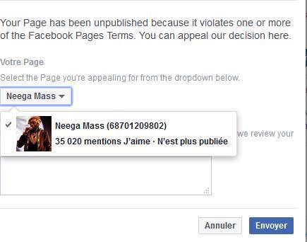 L'artiste Neega Mass banni à vie de la plateforme Youtube