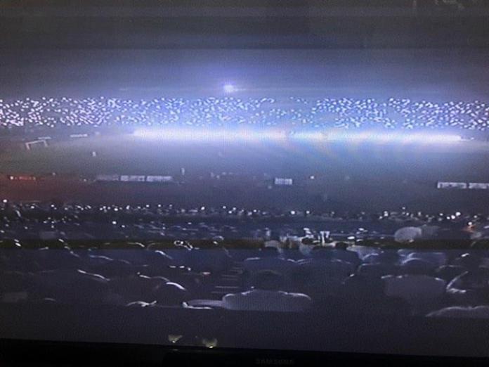 Photo : Sénégal – Afrique du Sud : blackout total dans le stade