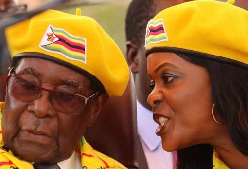 Les militaires veulent surtout écarter Grace Mugabe