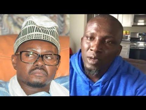 """Assane Diouf reprend les insultes: Il traite le porte parole des mourides de """"corrompu"""" (Regardez)"""