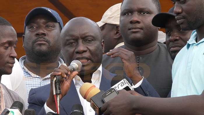 Idrissa Seck : « Jamais dans l'histoire politique du Sénégal, un chef d'Etat ne s'est… »