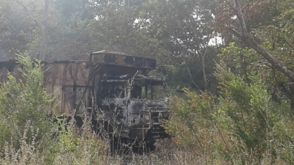 Règlement de compte à Bignona : Un camion chargé de bois brûlé par...