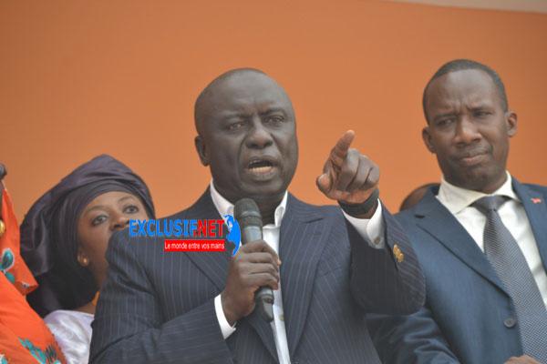 Idrissa Seck prévient: « Les députés qui ont levé l'immunité parlementaire de Khalifa Sall ont une lourde responsabilité devant... »
