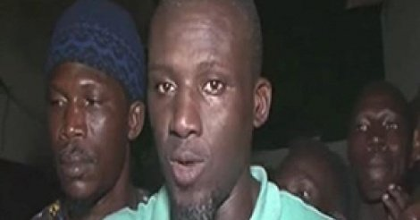 Assane Diouf passe sa première nuit à Rebeuss