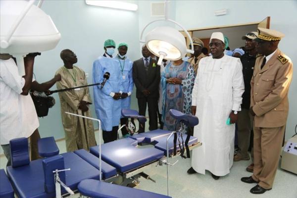 Macky Sall inonde nos hôpitaux avec des équipements de pacotille